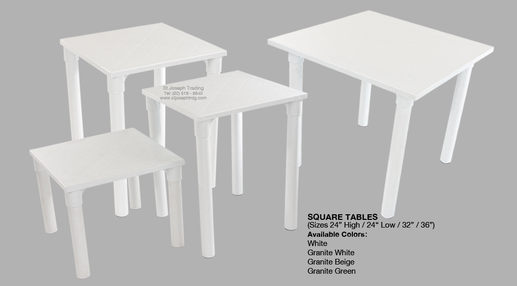 cofta square tables