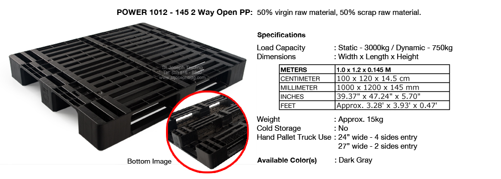 3 Power 1012 145 2way with insert