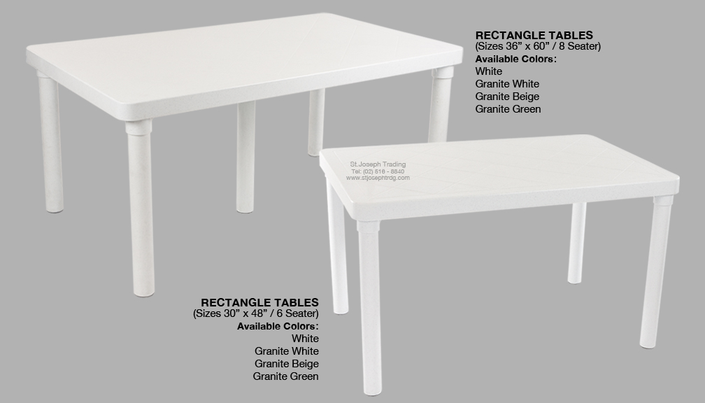 cofta rectangle table