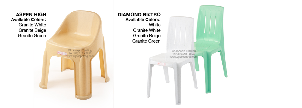 Cofta Aspen High Chair and Diamond Bistro Chairs