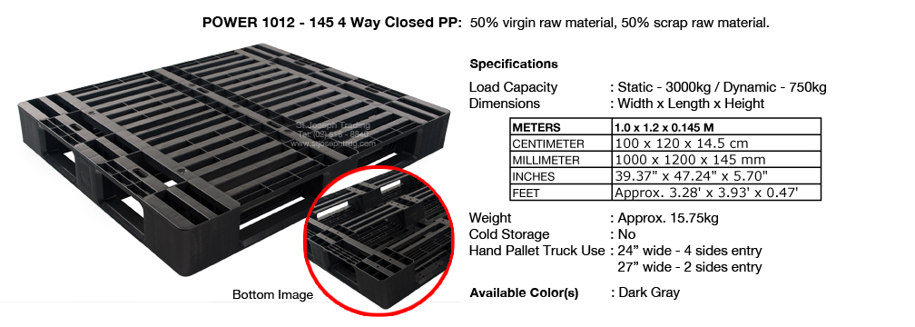 4 Power 1012 145 4way with insert
