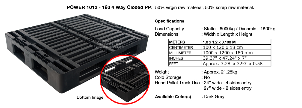 6 Power 1012 180 4way with insert