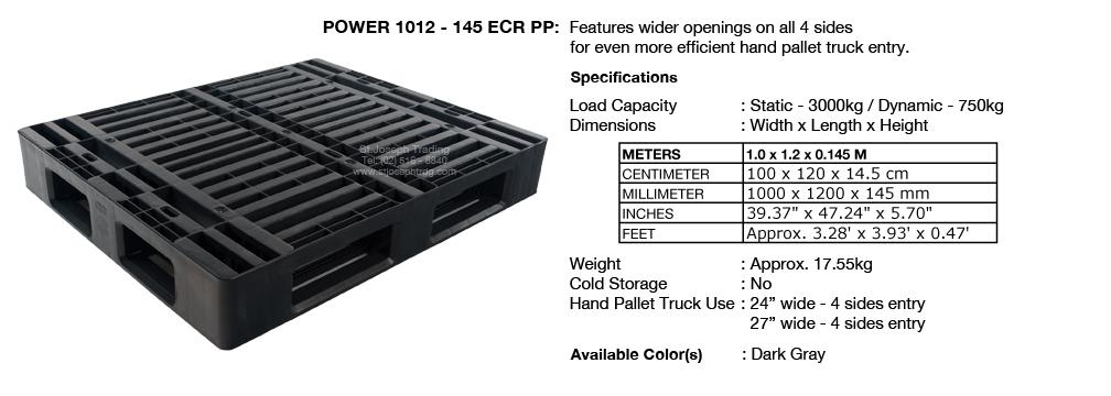 7 Power 1012 145 ECR