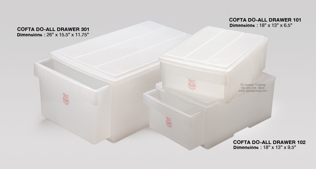 COFTA DO ALL DRAWER 101 102 301