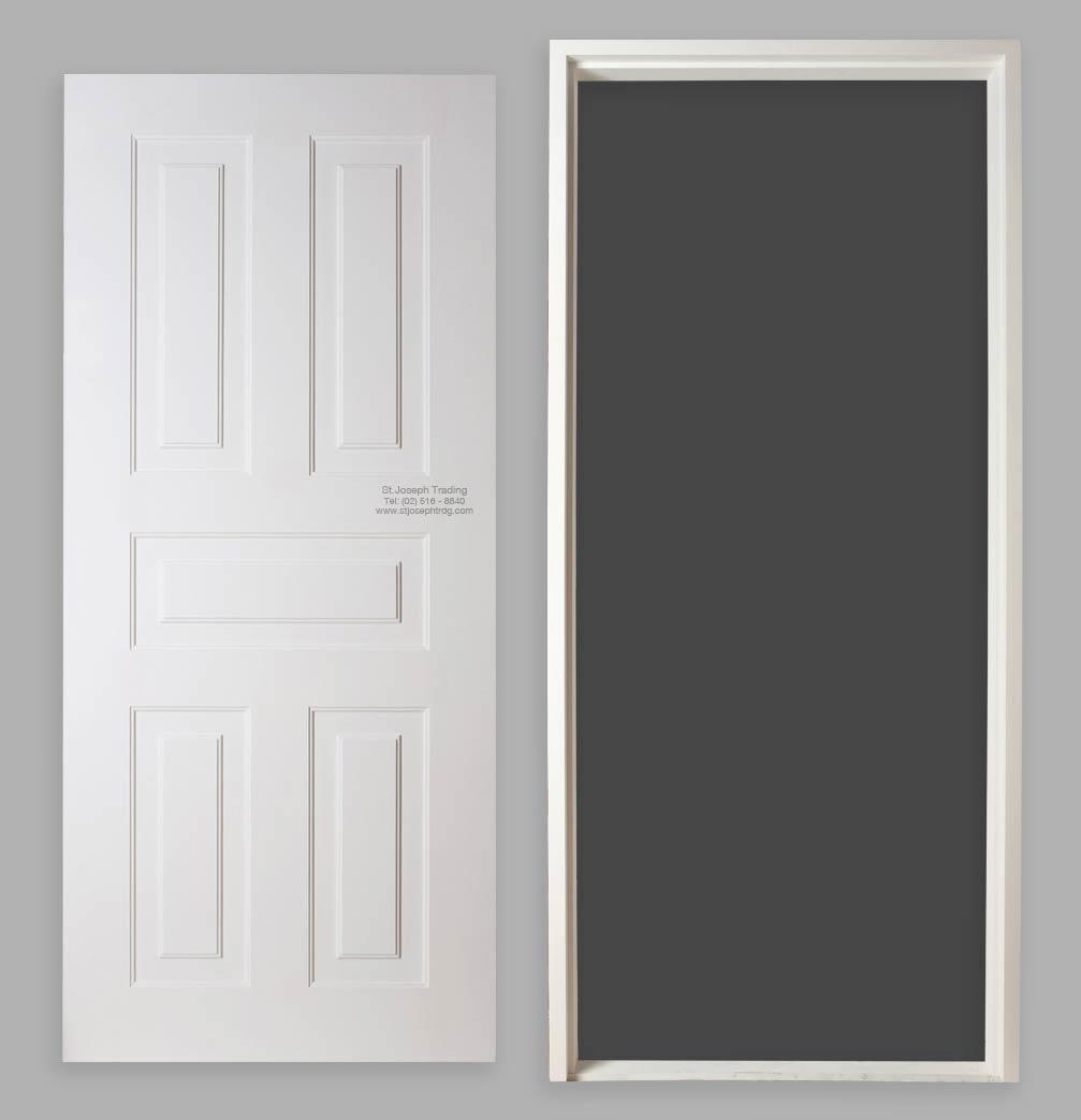 PVC-Doors & Versa Solid PVC Doors and Jambs | St. Joseph Trading