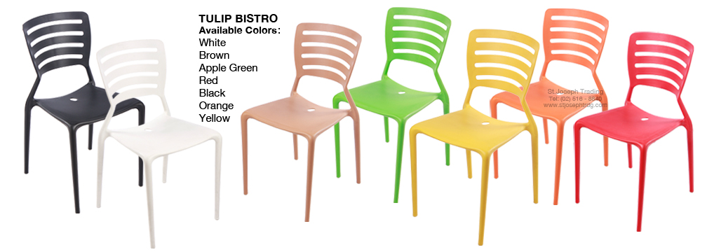 Tulip Bistro Chair - COFTA