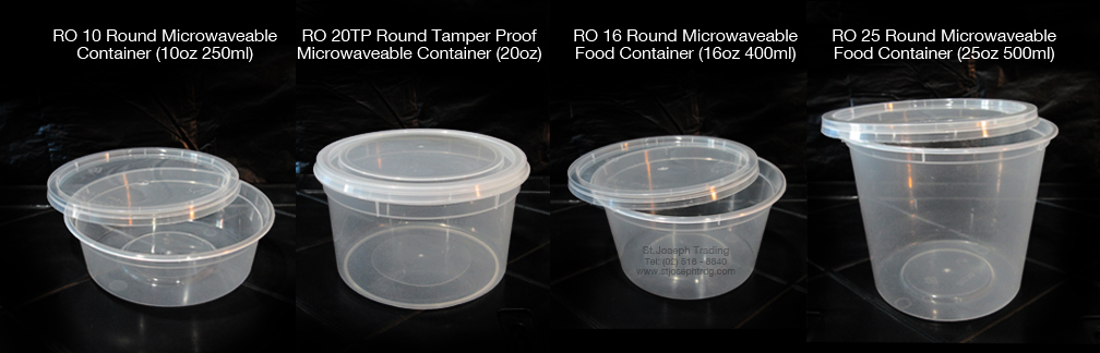 Microwaveable Food Containers St Joseph Trading