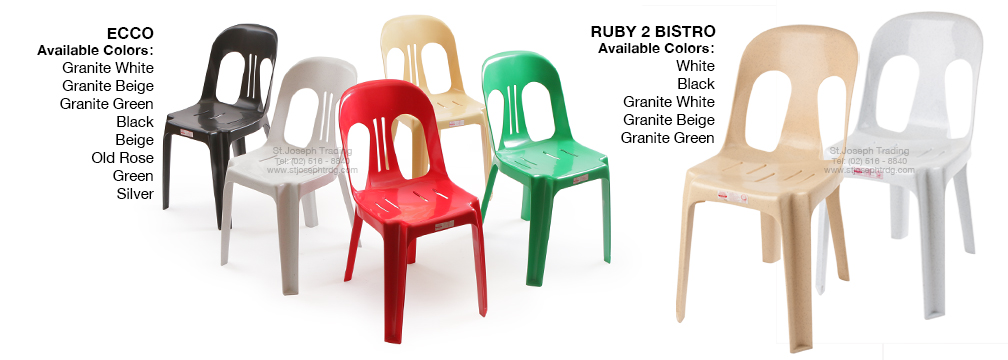 Cofta Ruby Bistro and Amber Premium Bistro Chairs
