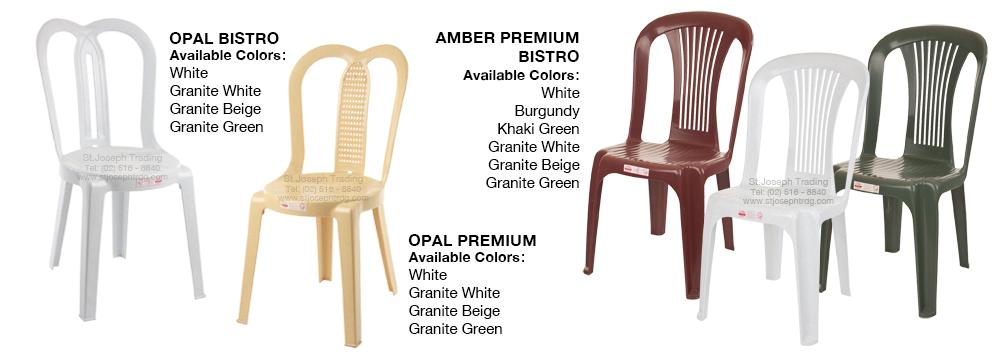 COFTA chair Premium Bistro Opal, Amber and Sapphire